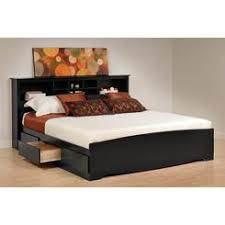 double bed bookcase headboard