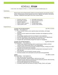 Resume Examples Customer Service Resume by Best Retail Customer Service Representative Resume Example