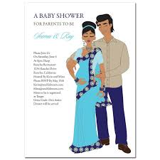 baby shower for couples unique indian bridal shower invitations starry western by