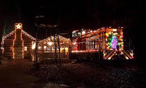 country christmas train denton farmpark