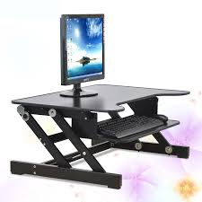 Computer Desk Stand Easyup Height Adjustable Sit Stand Desk Riser Foldable Laptop Desk