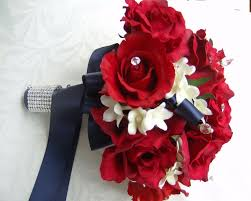 Wedding Flowers M Amp S 45 Best Red White And Blue Bouquets Images On Pinterest Wedding