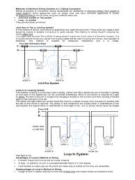 methods of electrical wiring systems w docx electrical wiring cable