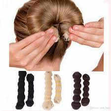 hair bun maker curler bendy magic styling hair sticks make hair bun chignon