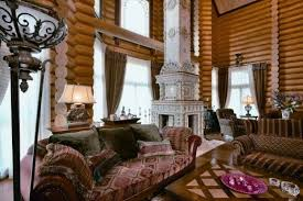 Russian Home Siberian House Noble Fairytale Home In Russia Art Decoration Design