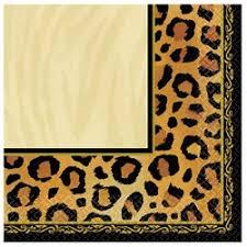 cheetah print party supplies leopard print party supplies partyelf children s theme birthday