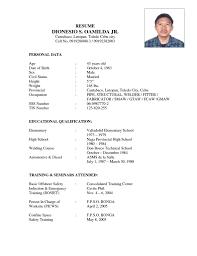 Sample Resume Objectives Welder by Resume Welder Resume Template