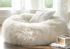 amazing fluffy bean bag chairs large shaggy faux fur beanbag cover