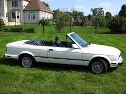 bmw e30 325i convertible for sale purchase used 1990 bmw e30 325i convertible white blue top