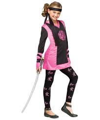 Halloween Costume Kids Girls Dragon Oriental Ninja Kids Costume Halloween Costumes