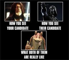 Star Wars Funny Meme - funny star wars memes with a political twist