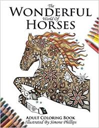 amazon wonderful horses horse coloring
