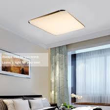 dimmable 24 30w led ceiling light panel lamp bedroom study living