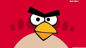 angry birds red bird hd desktop wallpaper definition