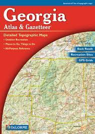 Back Road Maps Georgia Delorme Atlas U0026 Gazetteer Maps Free Maps Globe Globes