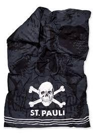 skull and crossbones bed linen offizieller fc st pauli fan shop