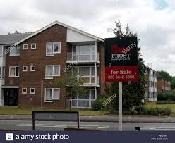 flats for sale in sutton surrey england stock photo royalty free