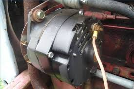 how to wire an alternator on a tractor it still runs your