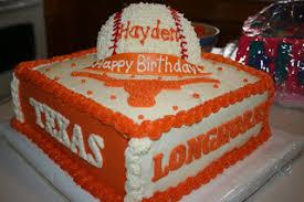 carly u0027s cakes texas longhorns