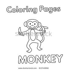 rakhi coloring pages cartoon monkey stock images royalty free images u0026 vectors