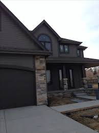 Brown Paint Colors For Exterior House - brown exterior paint color combinations christmas ideas home
