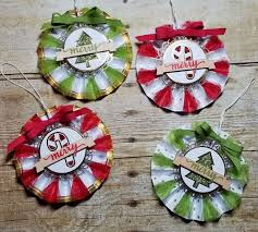 What Does Ornaments Meet The Beautiful Be Merry Rosette Ornaments Kit Fostering