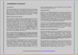 Lebenslauf Vorlage Tum Muster Lebenslauf In Aufsatzform Anschreiben 2018