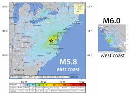 Map Of Massachusetts Coast by East Coast U S Earthquakes What Gives The Trembling Earth