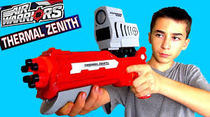 Seeking Review Thermal Zenith Blaster With Heat Seeking Scope Review With Robert