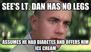 Lieutenant Dan Ice Cream Meme - steam community lieutenant dan ice cream shakes ice cream cone