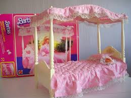 Barbie Beds Barbie Canopy Bed Freddycat1 Flickr