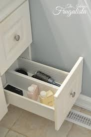 Vanities With Drawers How To Diy A Bathroom Vanity Sliding Shelf The Interior