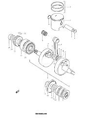 1969 suzuki ts250 savage piston crankshaft parts best oem