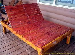 Cedar Chaise Lounge Timber Frame Tools Double Cedar Chaise Lounge