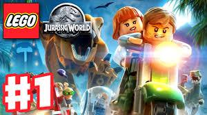 tutorial lego jurassic world ps3 lego jurassic world gameplay walkthrough part 1 jurassic park