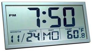 awesome and beautiful large digital wall clock stunning decoration