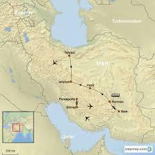Persia Map Classic Iran The Heart Of Persia Trip C 18 30 Oct 2017
