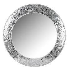 wilko silver mosaic mirror at wilko com