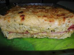 plat facile a cuisiner cuisine économique lasagnes de courgettes jambon boursin les
