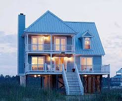 Low Country House Plan 60044rc 4 Bedroom Vacation Escape Low Country Houses