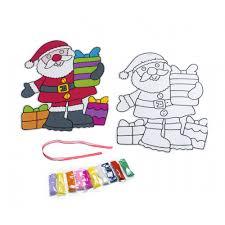 father christmas hanging sand art 1 kit children u0027s art and