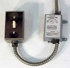 exhaust fan temperature switch gen3 electric 215 352 5963 wiring up a thermostat to a fan