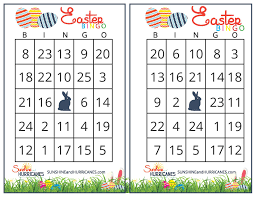 Halloween Bingo Cards Printable For Kids Easter Bingo Printable Easter Games