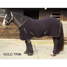 Rug Trim Happy Mares Rhinegold Silver Or Gold Trim Fleece Rug 01769 581792