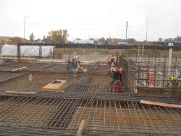 Rebar Worker Supplemental Water Treatment Plant Construction Underway