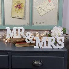 mr and mrs wedding signs aliexpress buy wedding signs mr and mr mrs wedding party