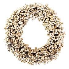berry wreath tallow berry wreath williams sonoma