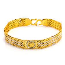 multi tone gold bracelet images 22k multi tone gold men 39 s bracelet w wrist watch band ganesh jpg