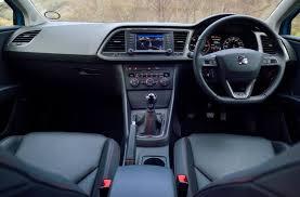 seat leon hatchback review parkers