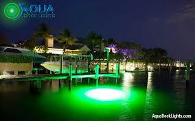 aqua dock lights